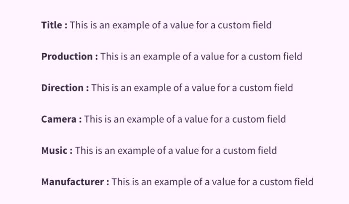 custom-field-loop