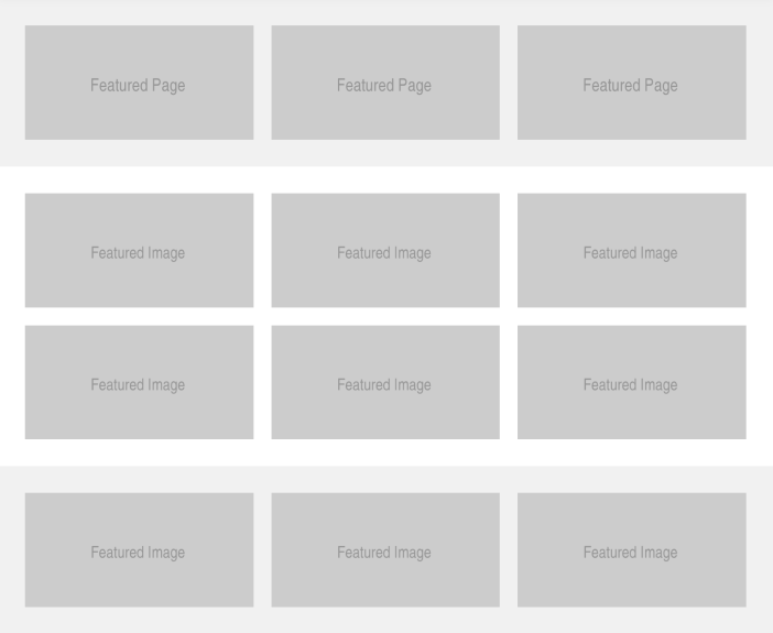 Post Page Grid Image Hover Overlay