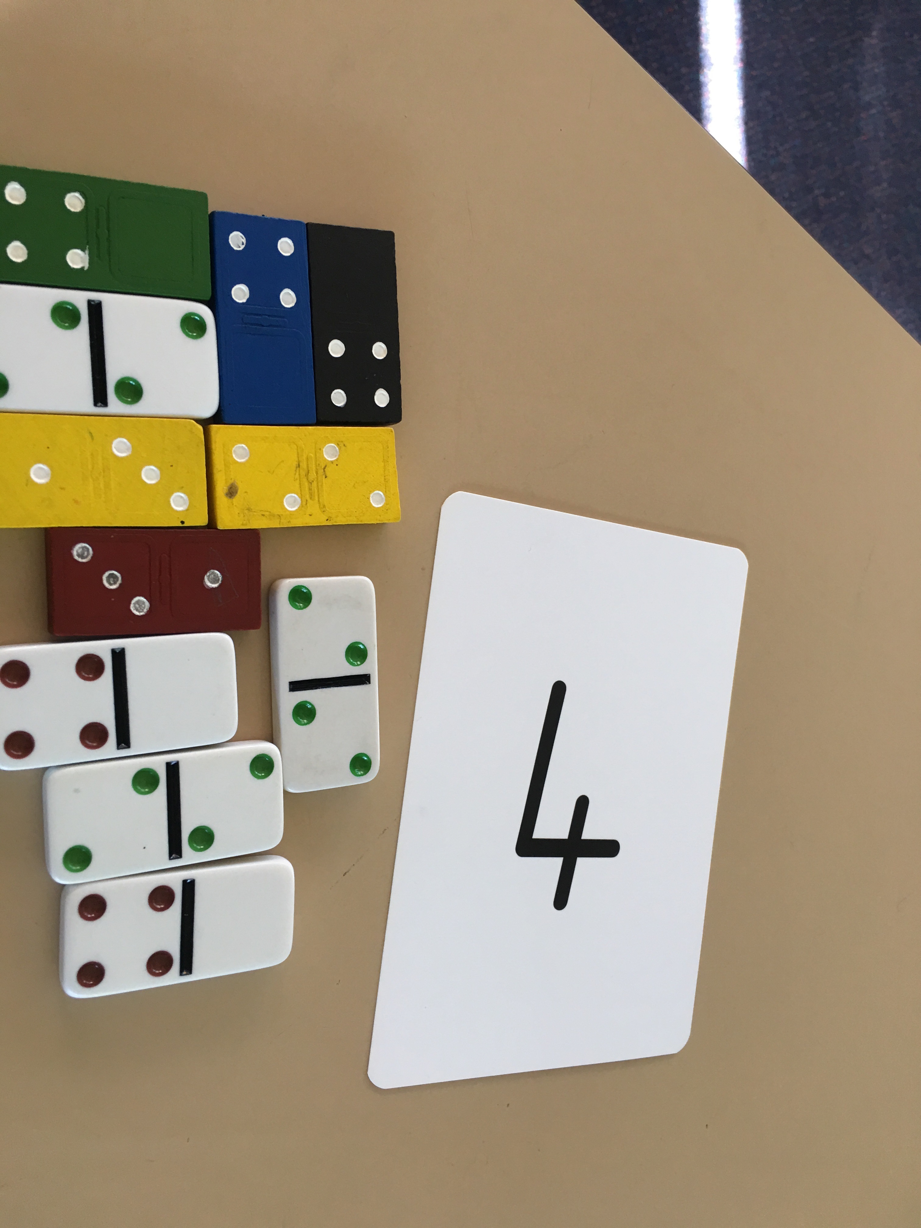 Adding Numbers With Dominoes