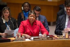 Fatou Bensouda, Prosecutor of the International Criminal Court (ICC)  UN Photo/Rick Bajornas