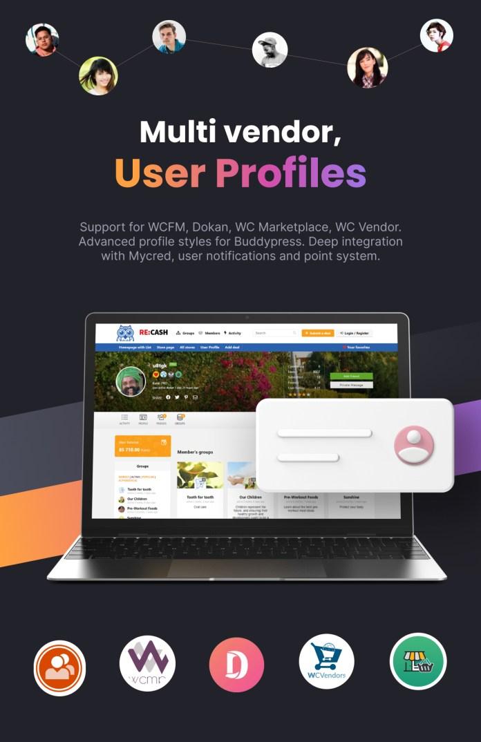 Multi vendor marketplace theme wordpress