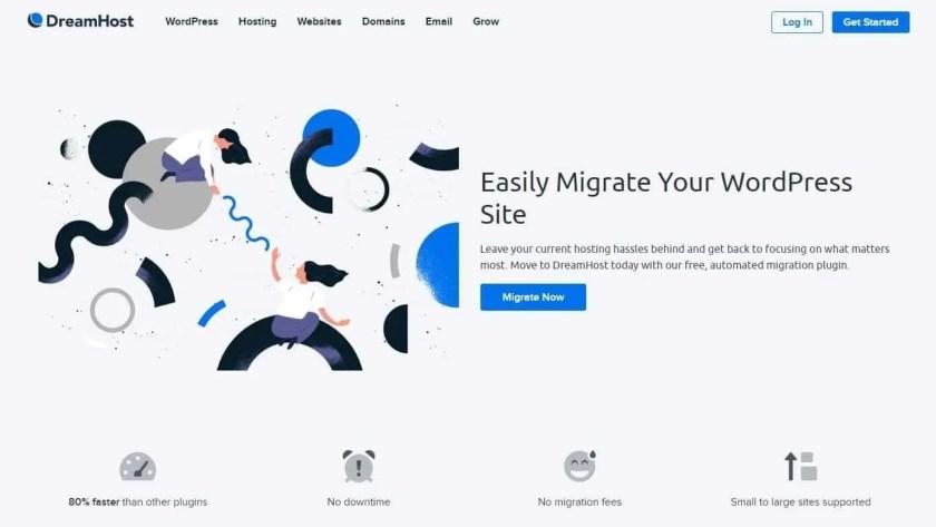 DreamHost WordPress Migration