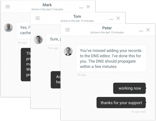 Kinsta Chat Support