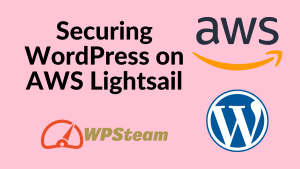 Securing WordPress on AWS Lightsail
