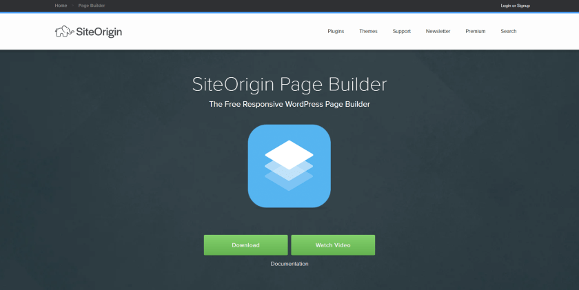 SiteOrigin Pagebuilder