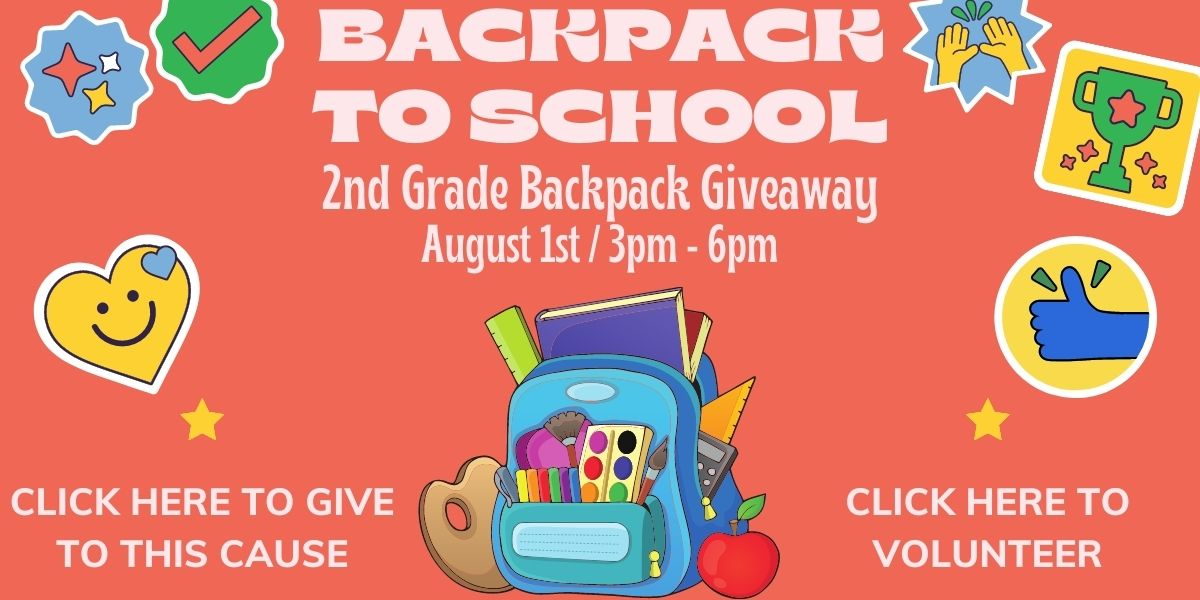 Backpack Giveaway button