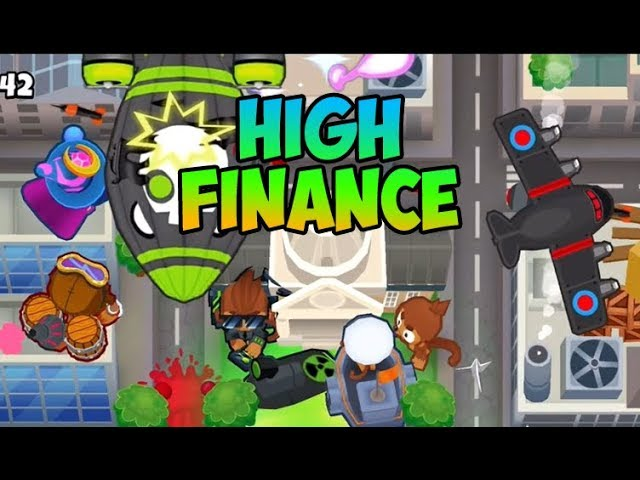 Bloons TD 6 – NEW MAP – HIGH FINANCE HARD – – The Viral Inn