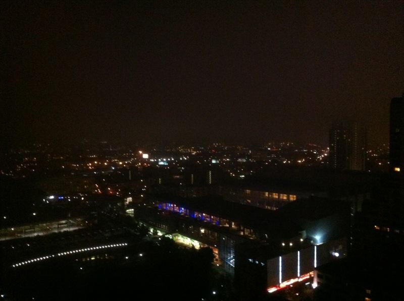 S.F. At Night