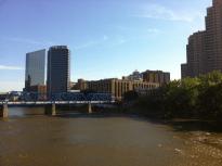 River With Skyline