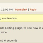 Simple Comment Editing 1