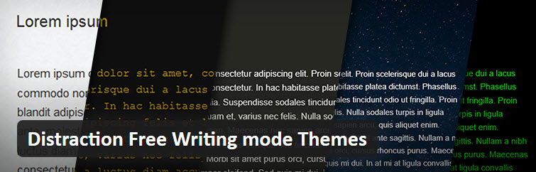 Distraction Free Writing Mode Themes Plugin Header
