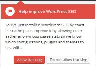 Yoast SEO Tracking