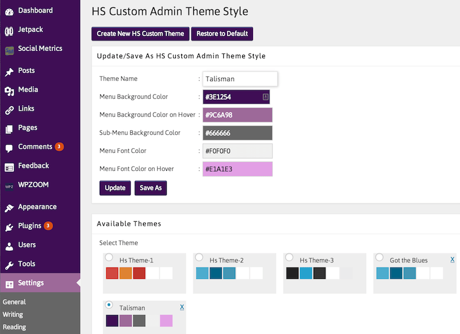 Create Custom Admin Color Schemes Directly Within WordPress ...