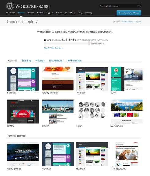 wp-theme-directory
