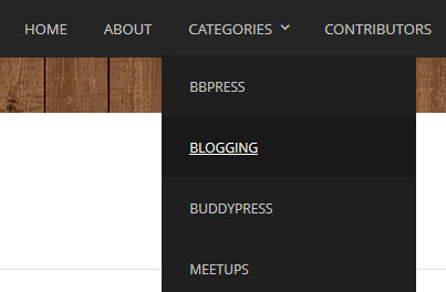 How To Create A Dropdown Menu Of WordPress Categories Without Using