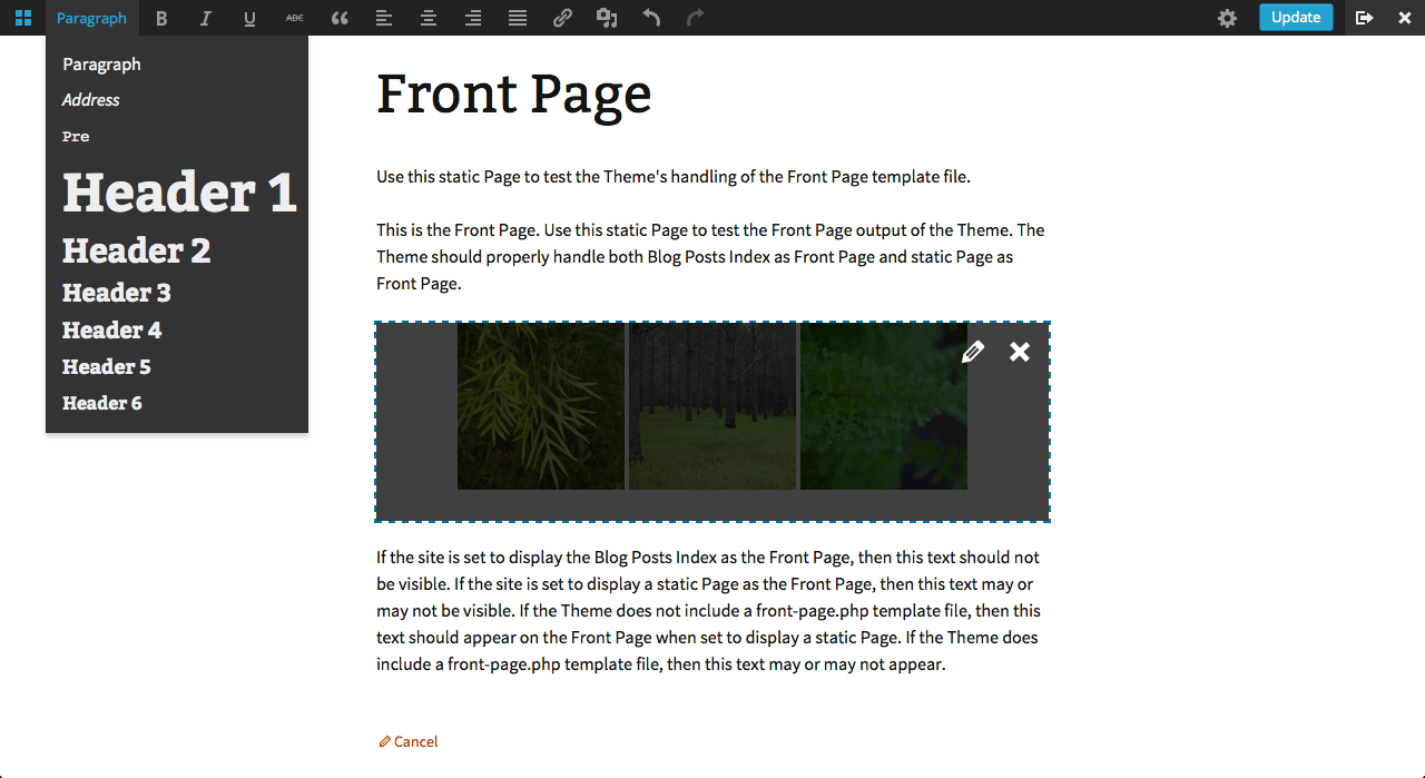 WordPress Front-end Editor Plugin Gets Major Updates – WordPress Tavern