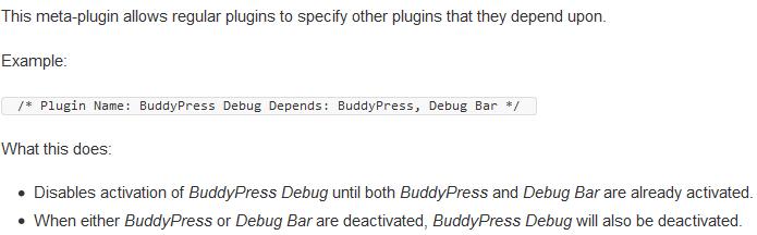What Plugin Dependencies Does