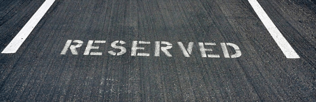Reserved Parking For CEO
