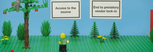 Open Source Explained By LEGO