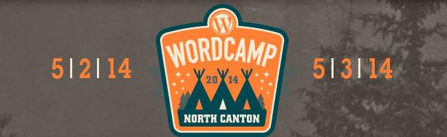 WordCamp North Canton 2014 Header