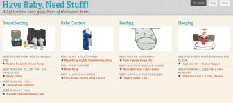 Have Baby. Need Stuff! Built Using Underscores