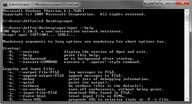 WGET In Action