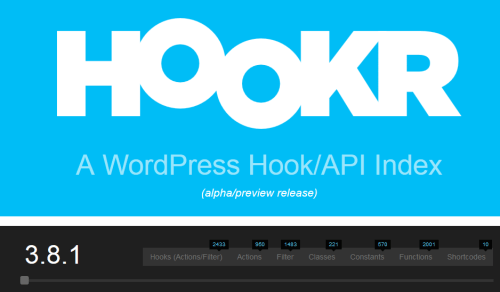 WordPress Hook and API Index