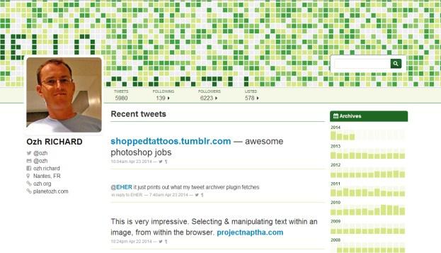 tweet-archiver-theme