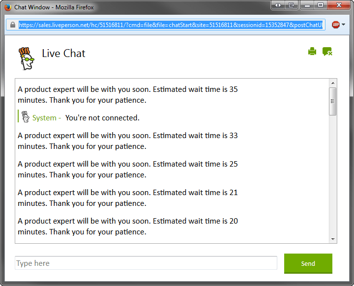 GoDaddy Live Chat