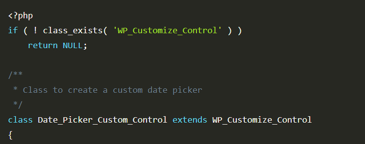 Save Time Building WordPress Customizer Controls