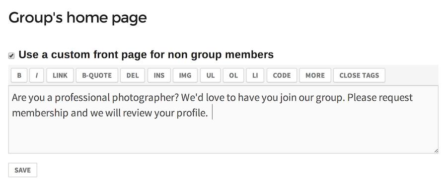 custom-homepage