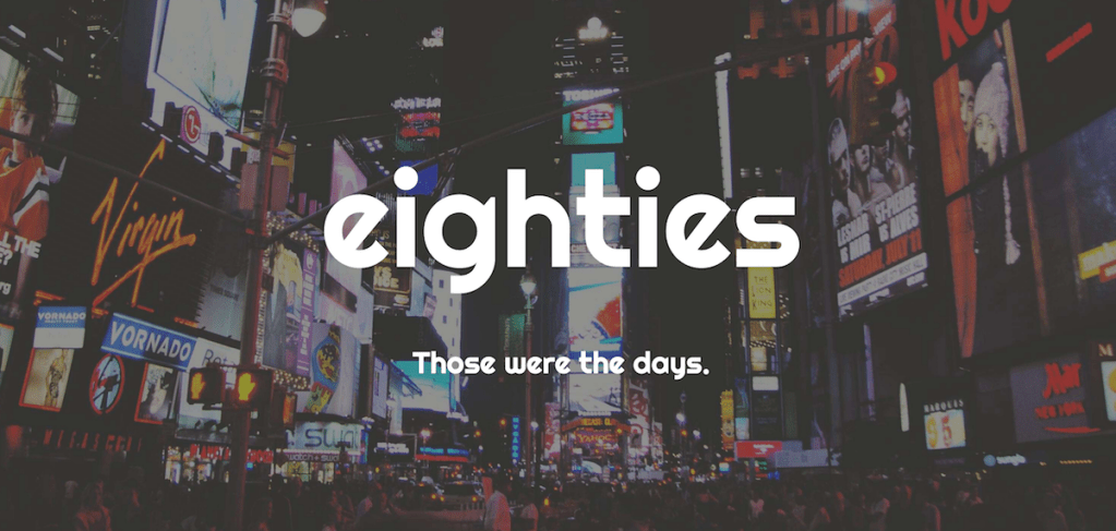 Eighties: A Bold Free WordPress Theme Focused on Content