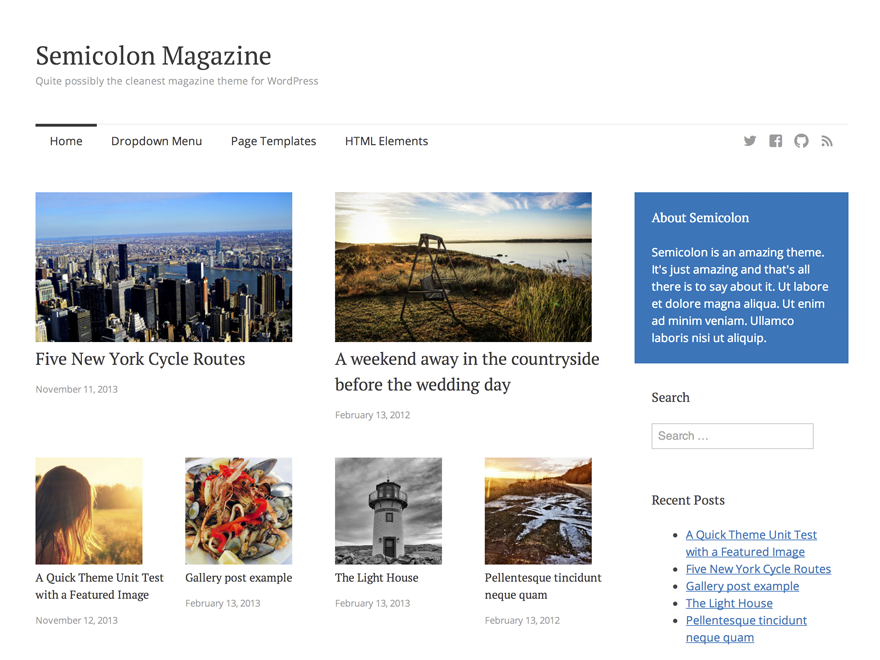 Semicolon is Possibly the Cleanest Free Magazine Theme for WordPress ...
