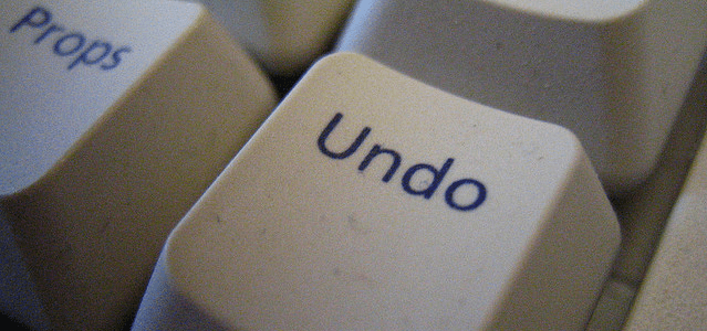 Undo Button Featured Image