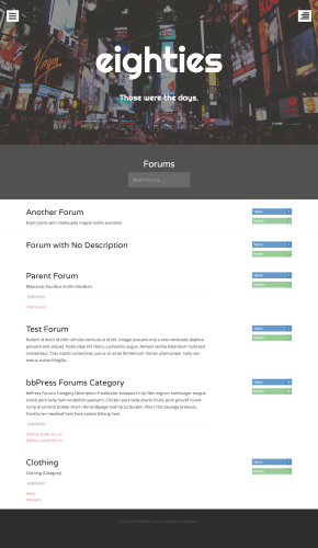 forums-page
