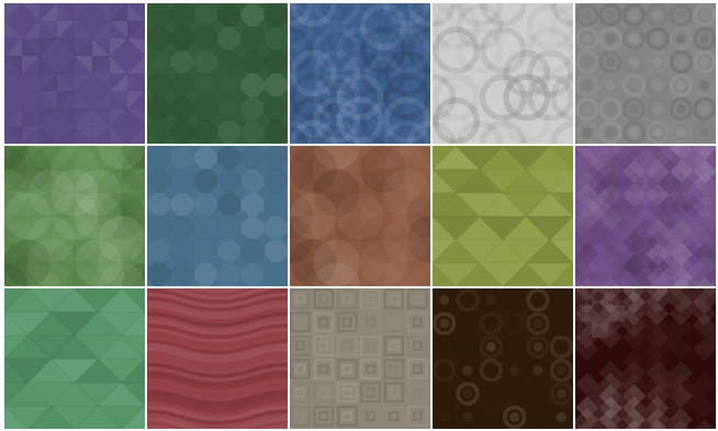 geo-patterns