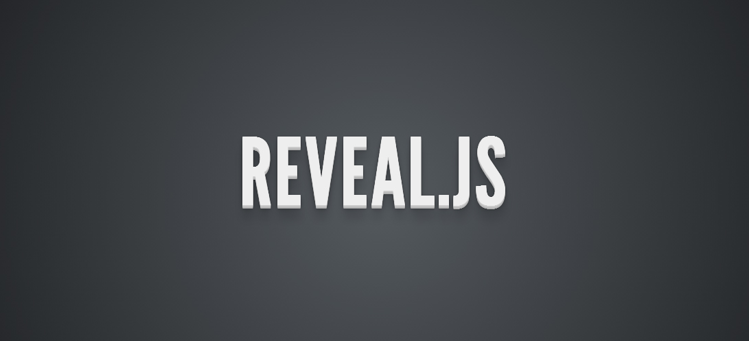 create a website for your presentation slides with the reveal js