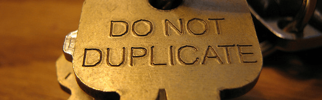Do Not Duplicate Featured Image
