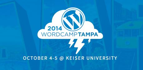 WordCamp Tampa 2014 Header