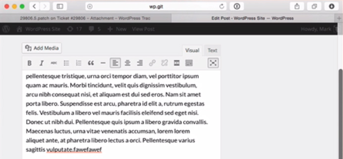 Focus Project and Session UI Approved for Merge Into WordPress 4.1