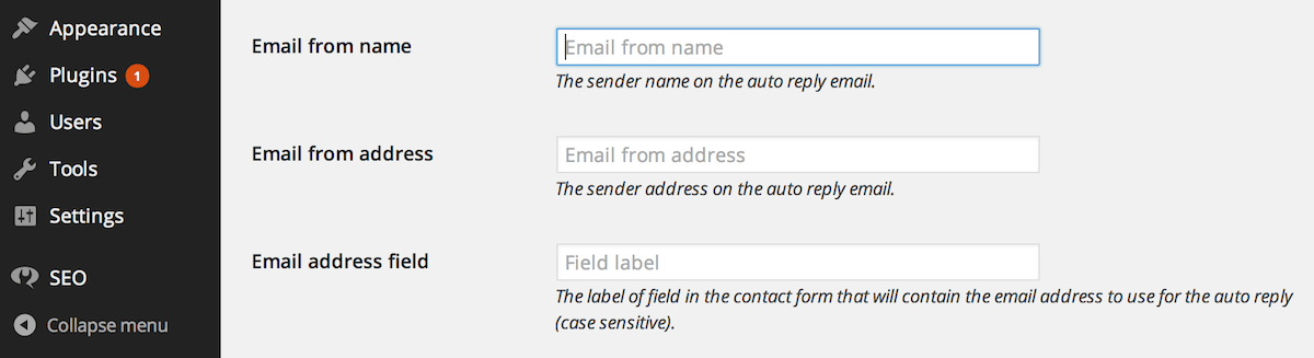 how to set auto reply in webmail