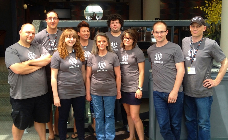 Kim Parsell With the Docs Team Meetup in Cincinnati 2013