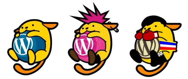 wapuu-variations