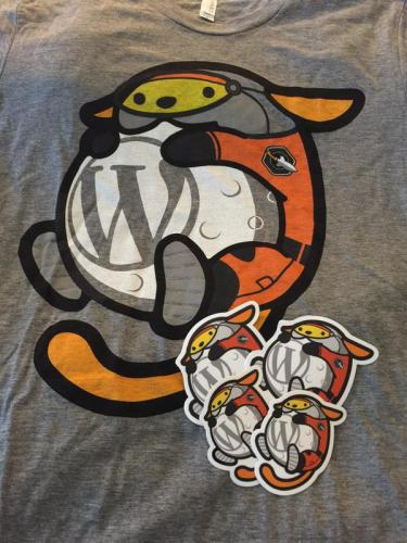 Space Wapuu With Rocket Patch