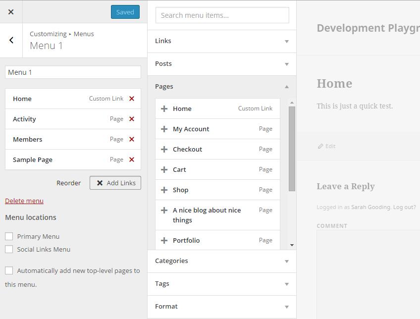 menu-customizer-test-add-page