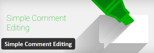 Simple Comment Editing Plugin Banner