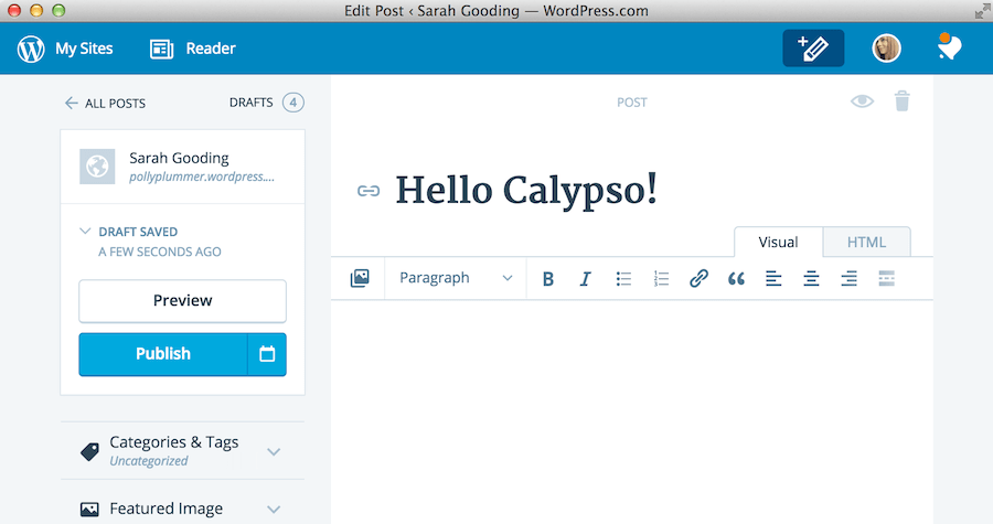 Early Reviews Show Applications Like Calypso Are the Future of WordPress