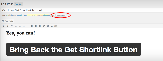 Bring Back Shortlink Featured Image