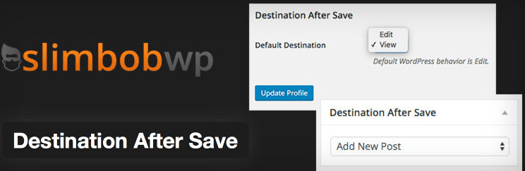 Destination After Save Featured Image