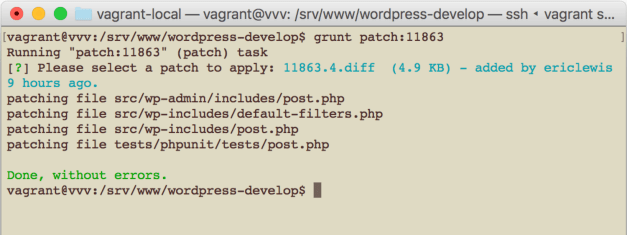 vvv-test-patches